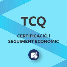 Certificació i seguiment econòmic