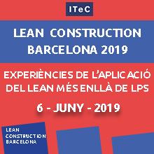 Jornada Lean Construction Barcelona 2019