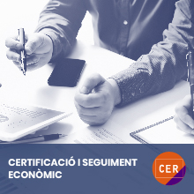 Certificacio i seguiment economic